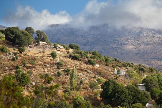 Greece, Crete, Landscape in the Dikti Mountains-Catharina Lux-Photographic Print