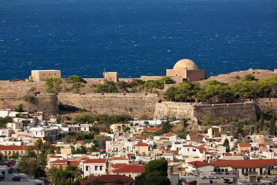 Greece, Crete, Rethimnon, Fortezza, Distant View-Catharina Lux-Photographic Print