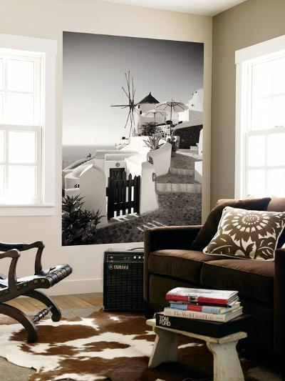 Greece, Cyclades, Santorini, Oia Town, Boutique Hotel-Michele Falzone-Wall Mural