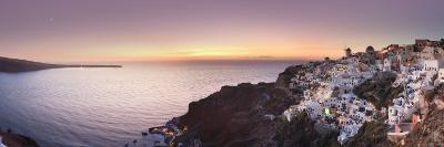Greece, Cyclades, Santorini, Panoramic View Oia Town and Santorini Caldera-Michele Falzone-Photographic Print
