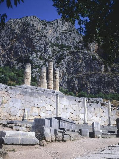 Greece, Delphi, Portico of the Athenians,5th Century BC, Ancient Greece--Giclee Print