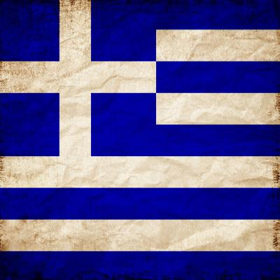Greece Flag-Wonderful Dream-Art Print