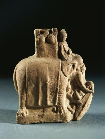 Greece, Mirina, Statuette Representing an Elephant Used for Struggles, Terracotta--Giclee Print
