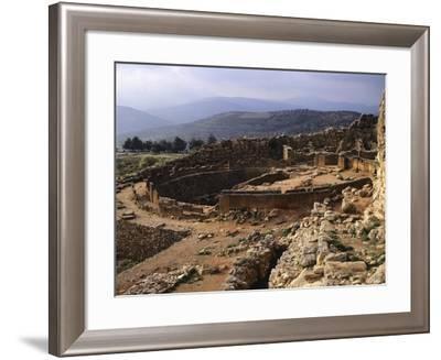 Greece, Mycenae, Royal Tombs of Acropolis--Framed Giclee Print