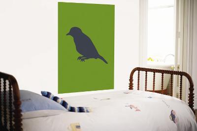 Greed Bird Silhouette-Avalisa-Wall Mural
