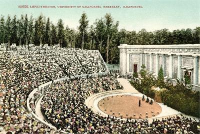 Greek Amphitheatre, Berkeley--Art Print