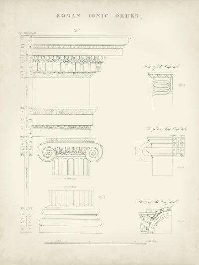 Greek and Roman Architecture V-Thomas Kelly-Art Print