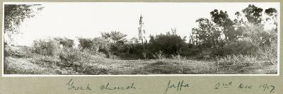 Greek Church, Jaffa, 2nd December 1917-Capt. Arthur Rhodes-Giclee Print
