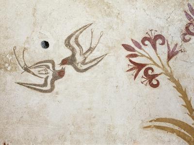 Greek Civilization Depicting Spring, from Akrotiri, Thera, Santorini--Giclee Print