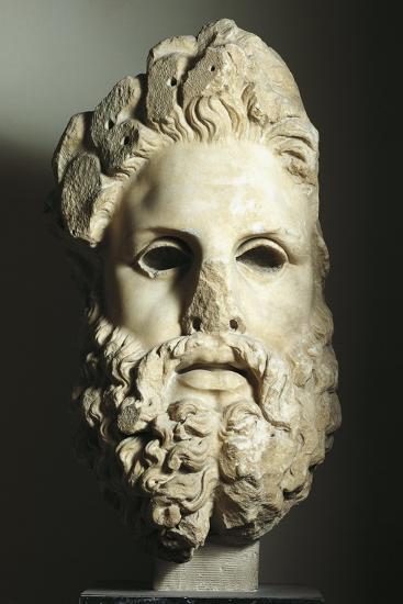 Greek Civilization, Head of Zeus--Giclee Print