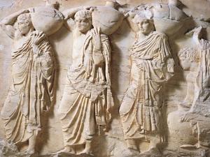 Greek Civilization, Pentelic Marble Frieze of Parthenon
