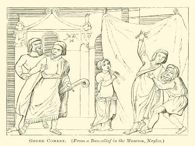 Greek Comedy--Giclee Print