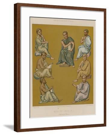 Greek Doctors--Framed Giclee Print