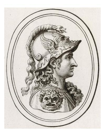 Greek Goddess of Wisdom, Patron of Athens, Adopted by the Romans as Minerva--Giclee Print