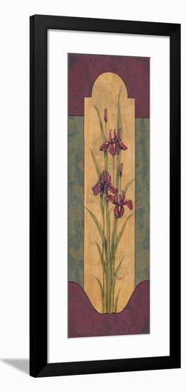Greek Iris I-Paul Brent-Framed Art Print