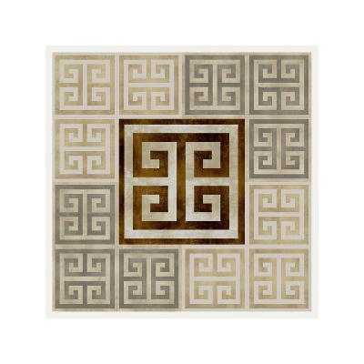 Greek Key III-Ellie Roberts-Giclee Print