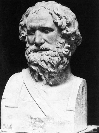 Greek Mathematician, Engineer, and Physicist Archimedes Famous for Invention, the Archimedean Screw--Photographic Print