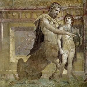 Greek Mythology : the Education of Achilles by the Centaur Chiro