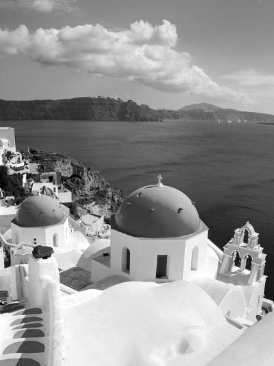 Greek Orthodox Church in Oia Village, Santorini Island, Cyclades, Greek Islands, Greece, Europe-Richard Cummins-Photographic Print