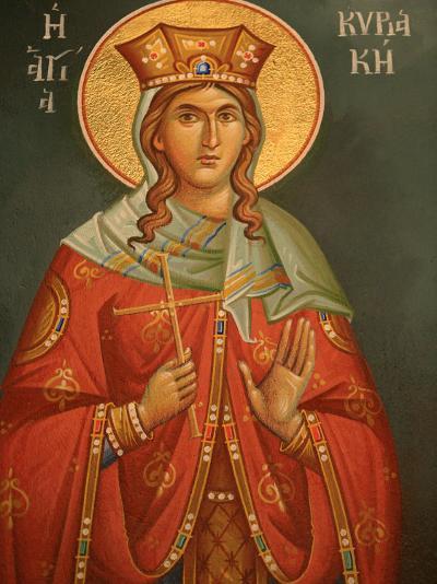 Greek Orthodox Icon, Thessaloniki, Macedonia, Greece, Europe-Godong-Photographic Print