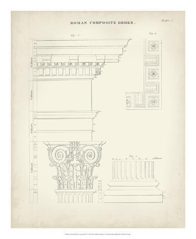 Greek & Roman Architecture IV-Thomas Kelly-Giclee Print