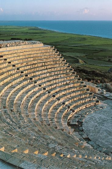 Greek-Roman Theatre of Kourion or Curium--Photographic Print