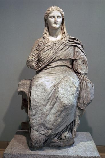 Greek sculpture of Demeter-Unknown-Giclee Print