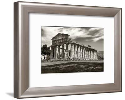Greek Temple-Christopher Bliss-Framed Giclee Print