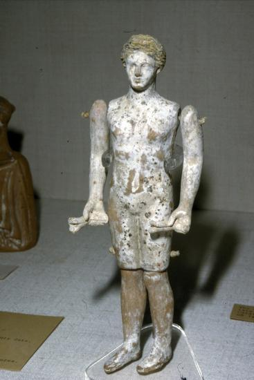 Greek Terracotta Figure, c620BC-c300BC-Unknown-Giclee Print