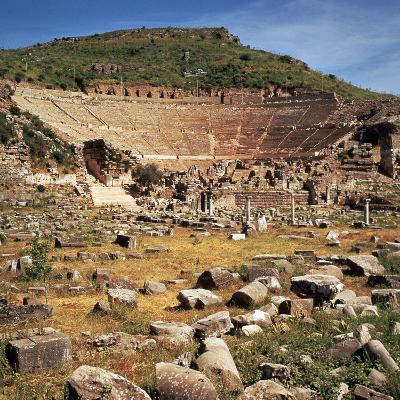 Greek Theatre at Ephesus, 1st Century Bc-CM Dixon-Photographic Print