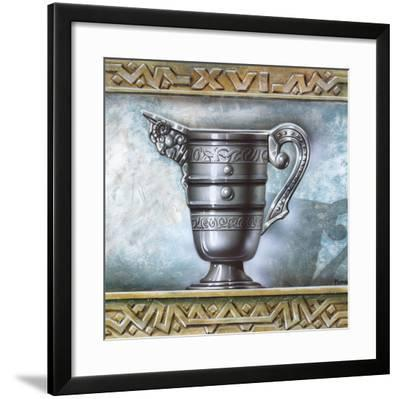 Greek Vase II-Manso-Framed Art Print
