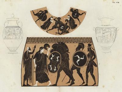 Greek Vase Painting--Giclee Print