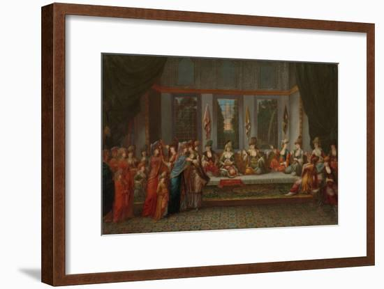 Greek Wedding, c.1720-37-Jean Baptiste Vanmour-Framed Giclee Print