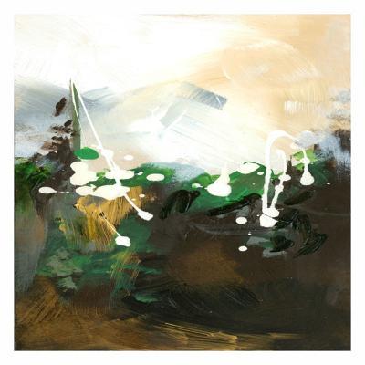 Green Abstract-Meejlau-Art Print