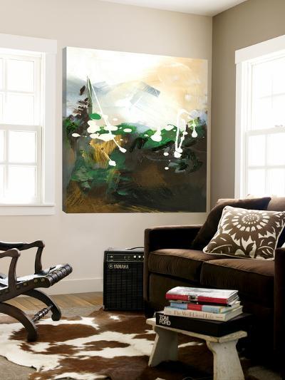 Green Abstract-Meejlau-Loft Art