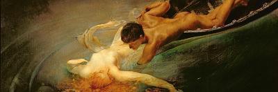 Green Abyss, 1862-Giulio Aristide Sartorio-Giclee Print