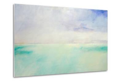 Green and Purple Sea and Sky-Skadi Engeln-Metal Print
