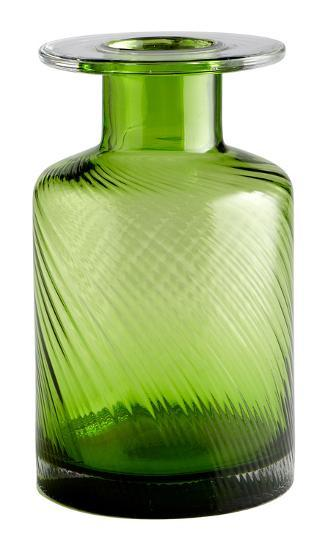 """Green Apothecary Vase - 11.75""""--Home Accessories"""