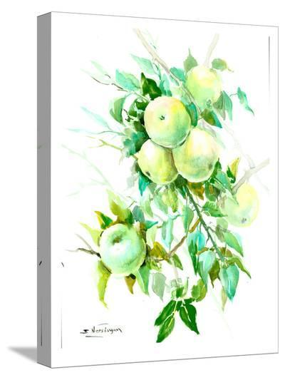 Green Apple Tree 4-Suren Nersisyan-Stretched Canvas Print