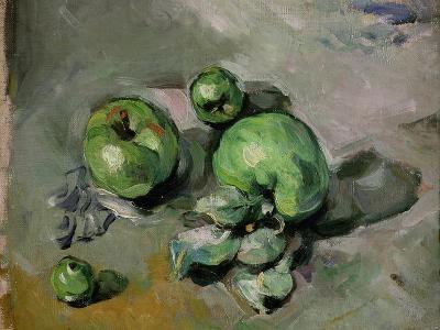Green Apples, c.1872-73-Paul C?zanne-Giclee Print