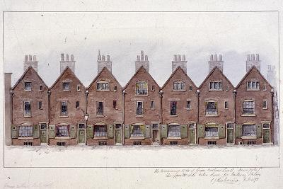 Green Arbour Court, Little Moorfields, London, 1871-Charles James Richardson-Giclee Print