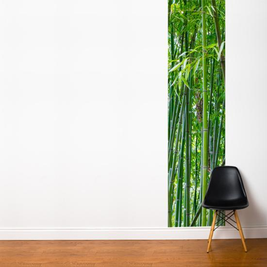 Green Bamboo Wall Mural by | Art com
