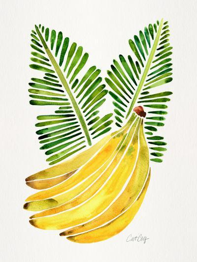 Green Bananas-Cat Coquillette-Giclee Print