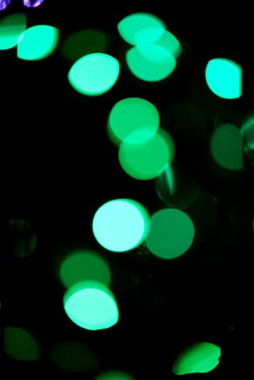 Green Bokeh-Erin Berzel-Photographic Print