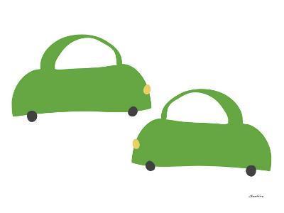 Green Cabs-Avalisa-Art Print