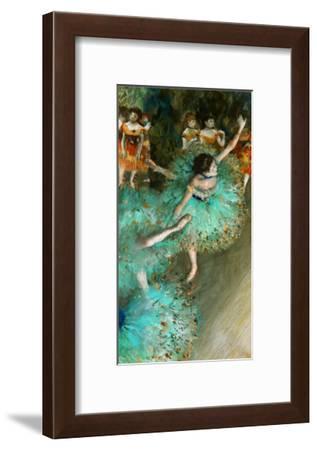 Green Dancer, circa 1880-Edgar Degas-Framed Giclee Print