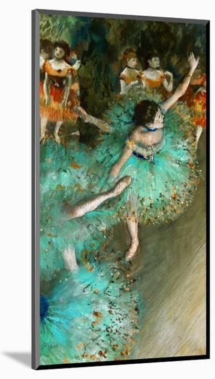 Green Dancer, circa 1880-Edgar Degas-Mounted Giclee Print