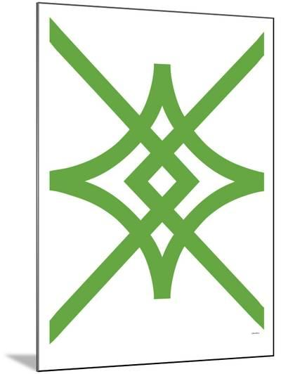Green Diamond-Avalisa-Mounted Print