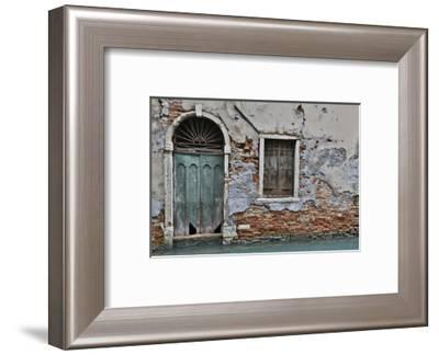Green Doorway, Venice, Italy-Darrell Gulin-Framed Photographic Print