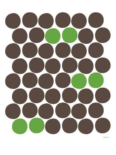 Green Dots-Avalisa-Art Print